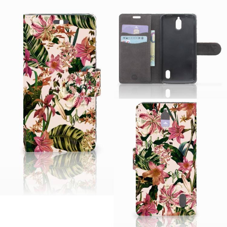 Huawei Y625 Hoesje Flowers