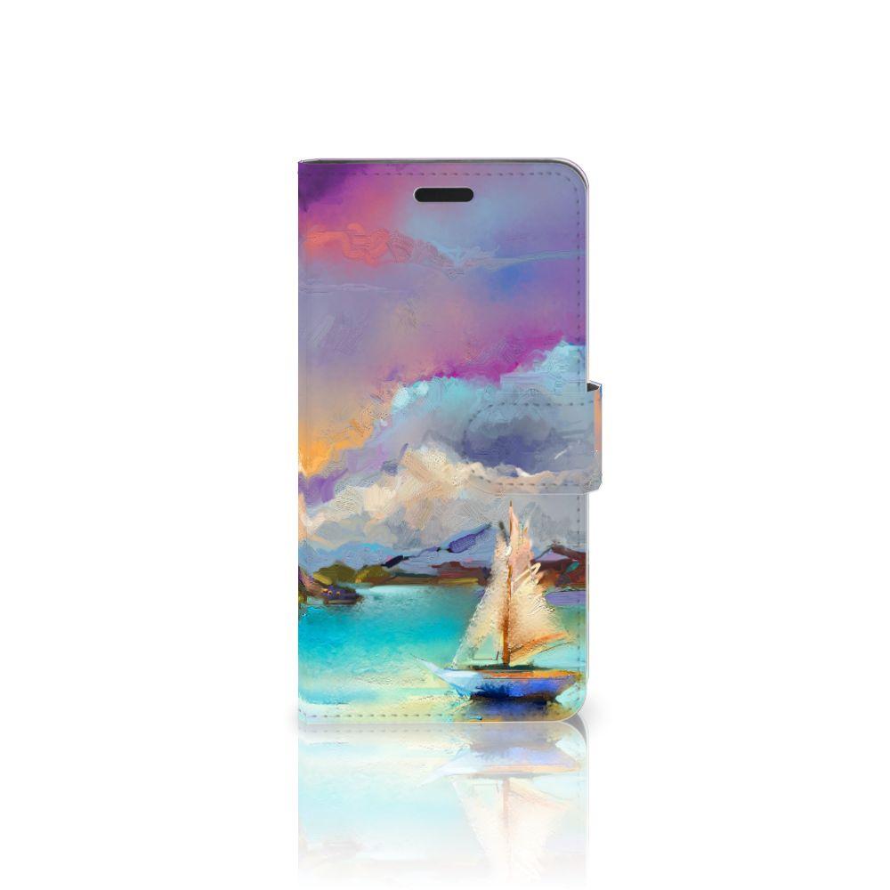 HTC 10 Uniek Boekhoesje Boat