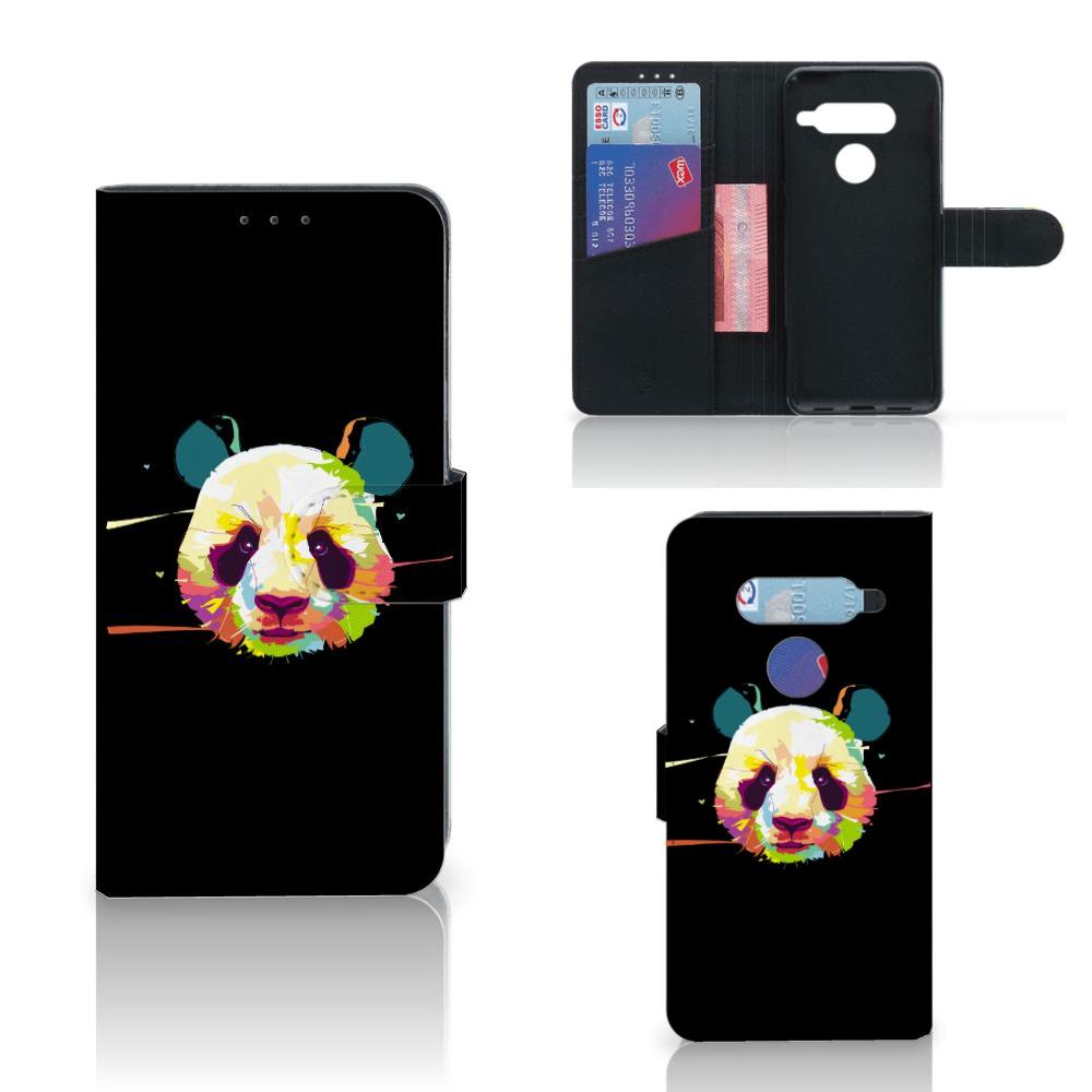 LG V40 Thinq Leuke Hoesje Panda Color