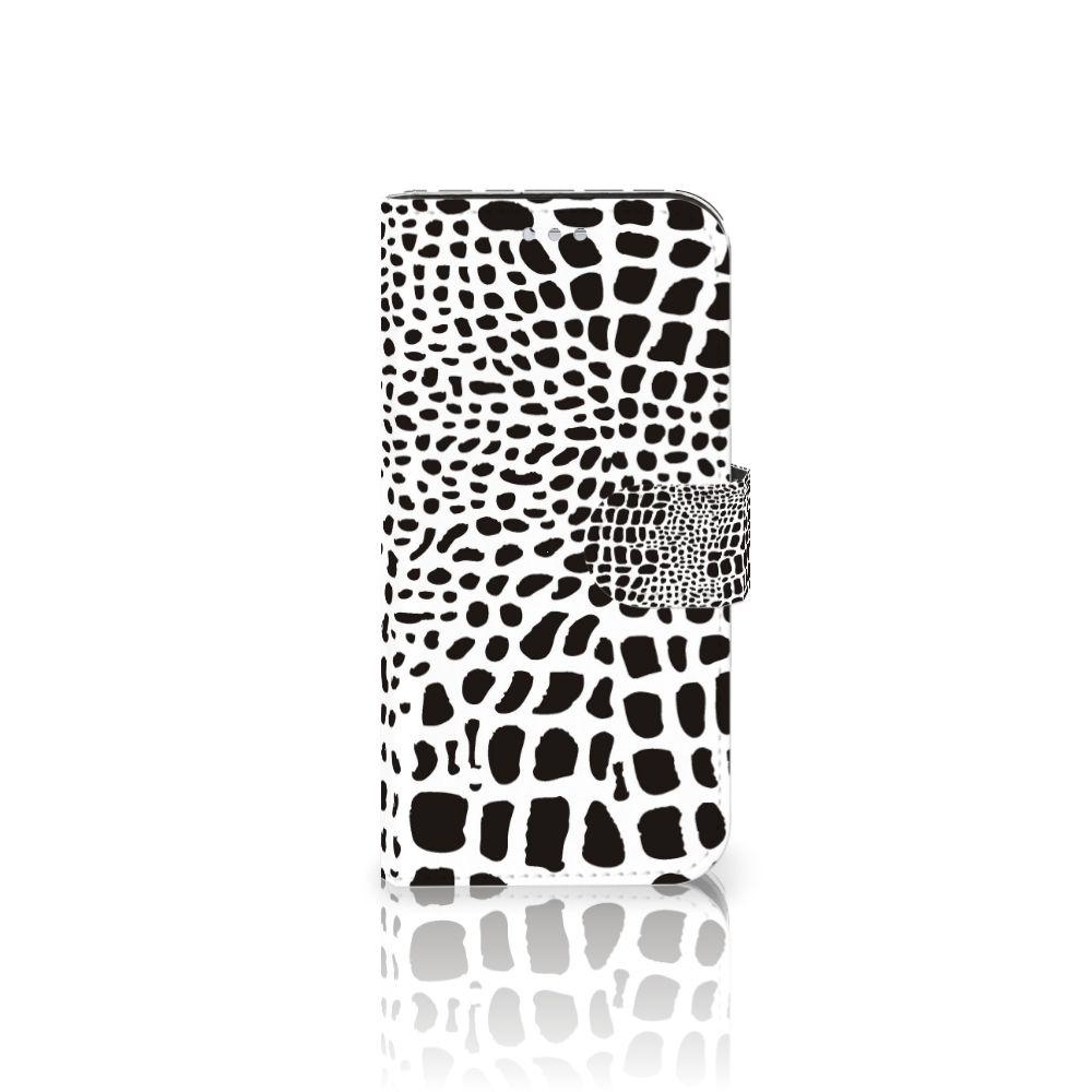 Samsung Galaxy S7 Telefoonhoesje met Pasjes Slangenprint