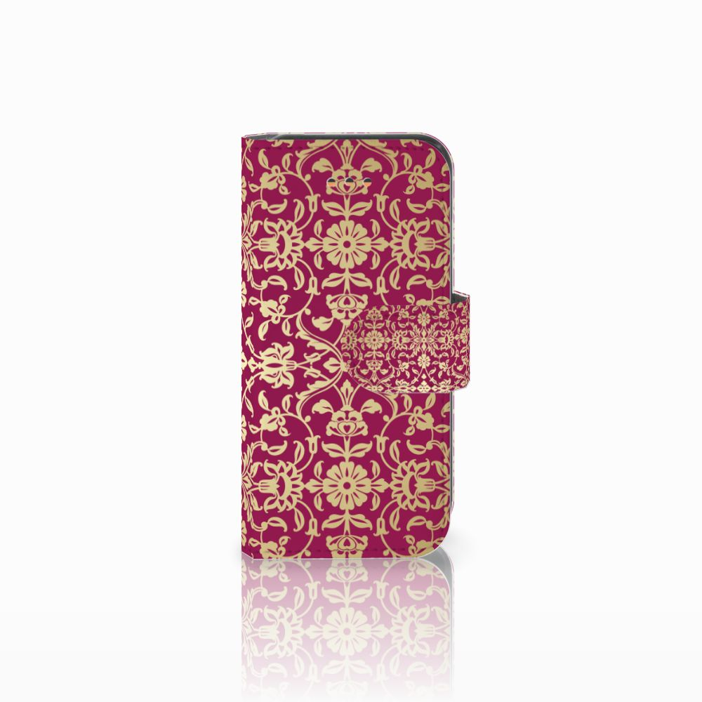 Apple iPhone 5C Boekhoesje Design Barok Pink