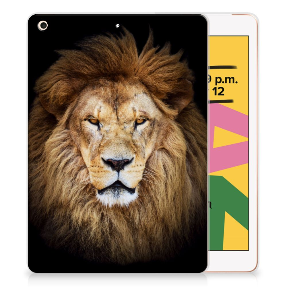 Apple iPad 10.2 (2019) Back Case Leeuw