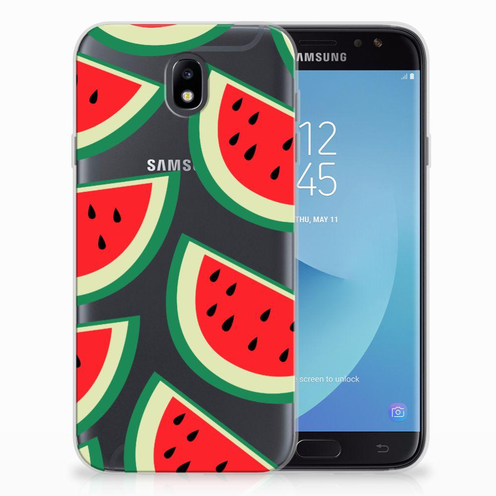 Samsung Galaxy J7 2017 | J7 Pro Siliconen Case Watermelons