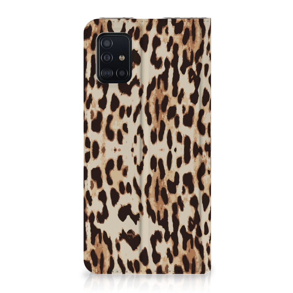 Samsung Galaxy A51 Hoesje maken Leopard