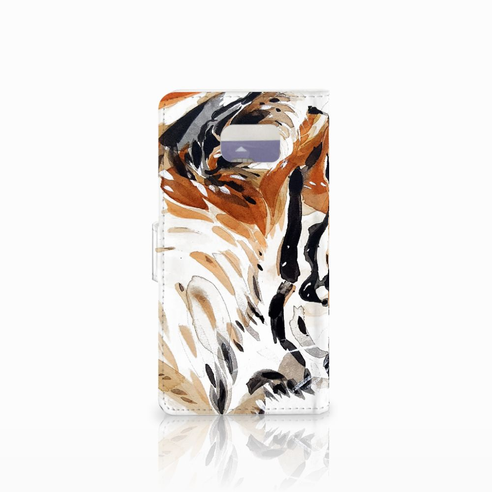 Hoesje Samsung Galaxy Note 5 Watercolor Tiger