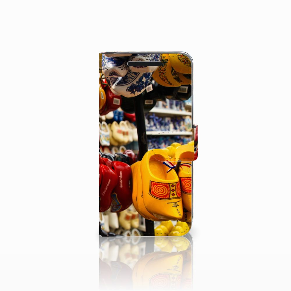 HTC One M9 Boekhoesje Design Klompen