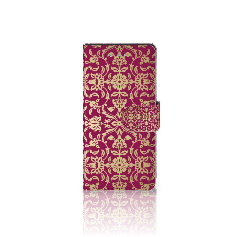 Wallet Case Huawei P9 Lite Barok Pink