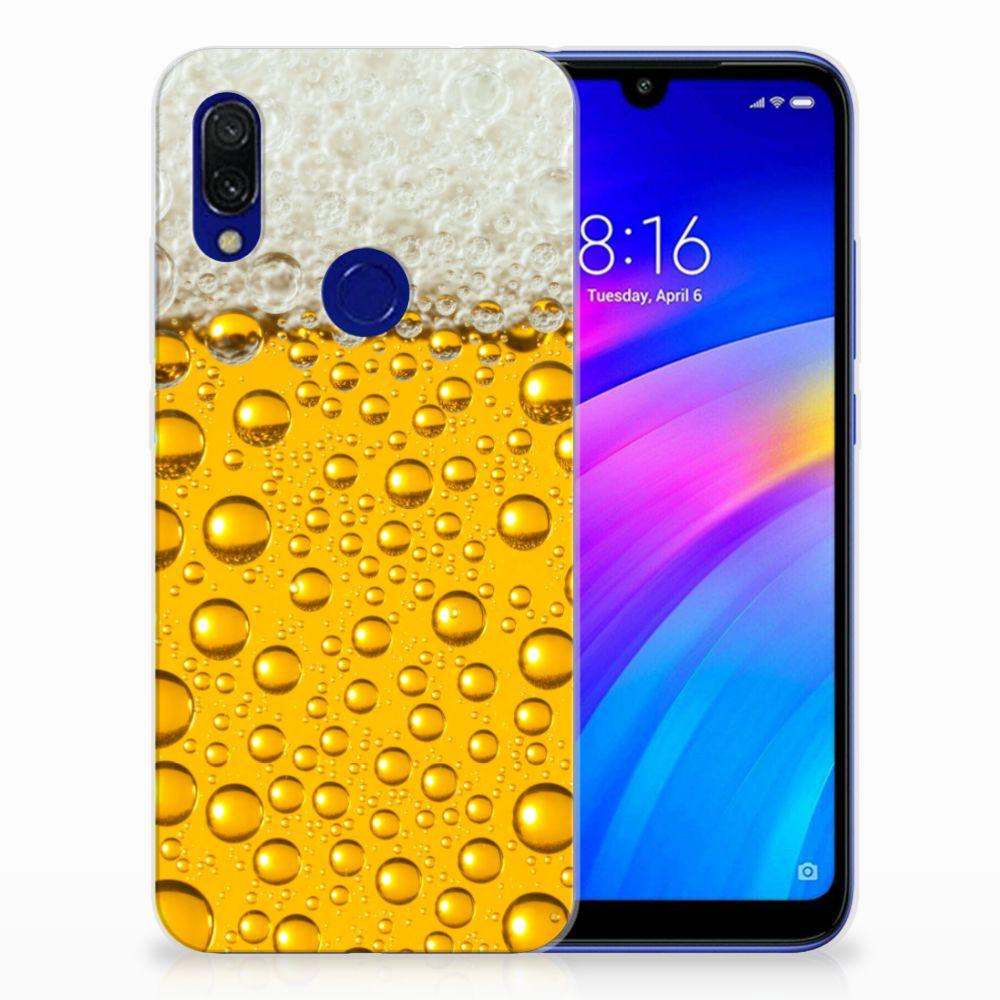 Xiaomi Redmi 7 Siliconen Case Bier