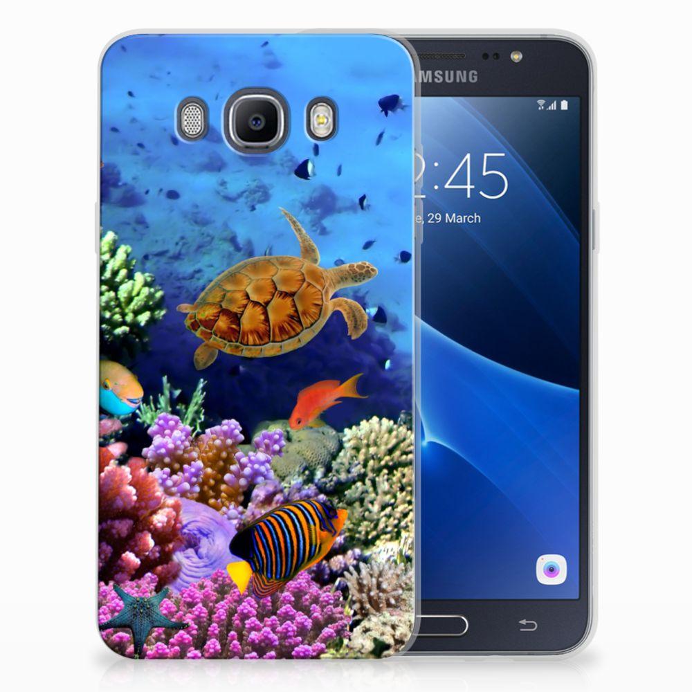 Samsung Galaxy J7 2016 TPU Hoesje Vissen