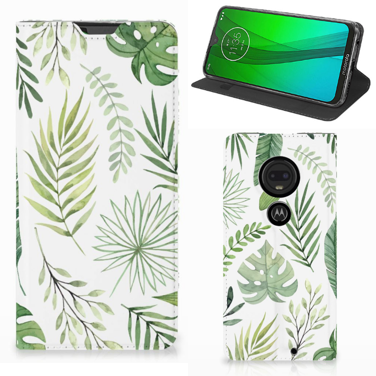 Motorola Moto G7 | G7 Plus Smart Cover Leaves