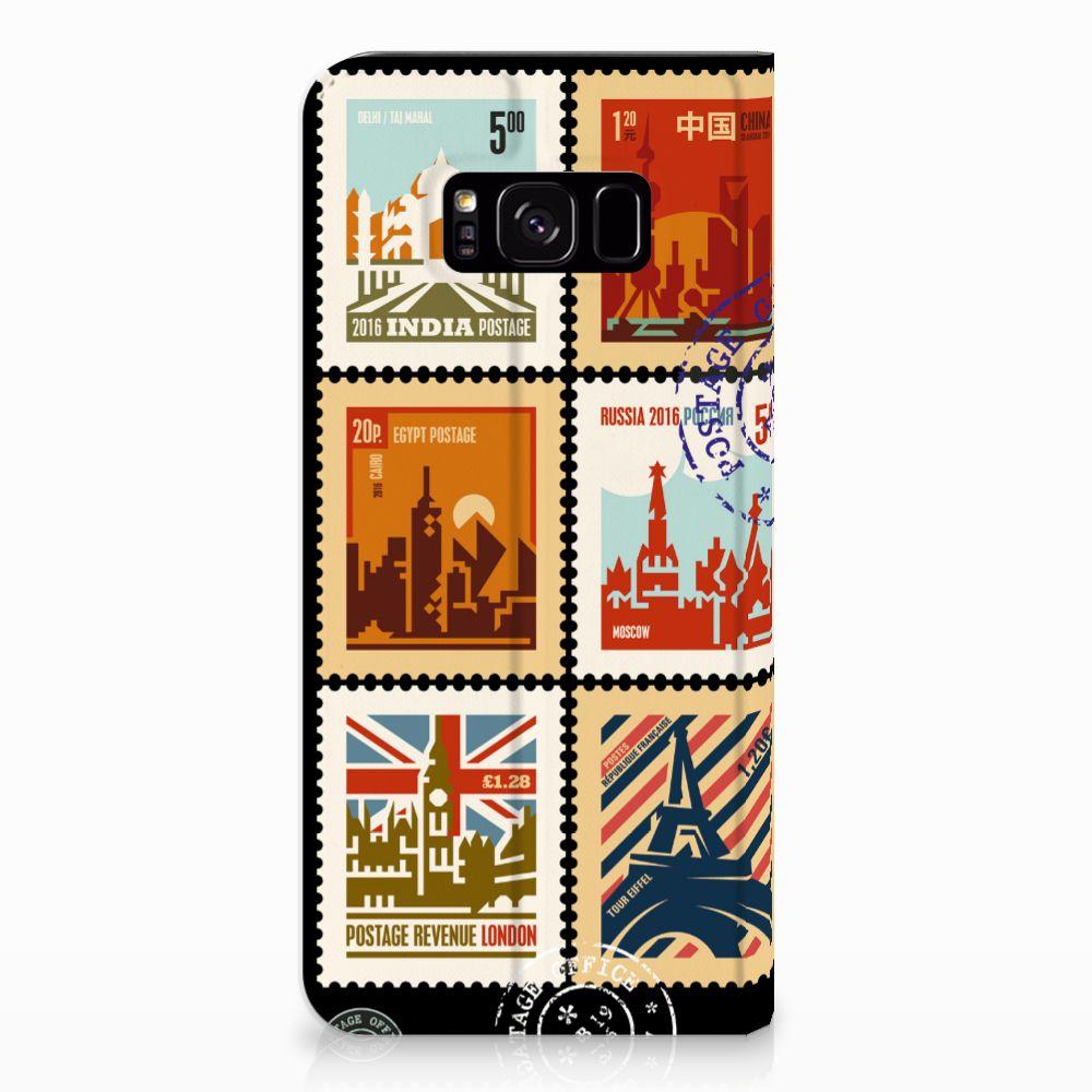 Samsung Galaxy S8 Plus Book Cover Postzegels