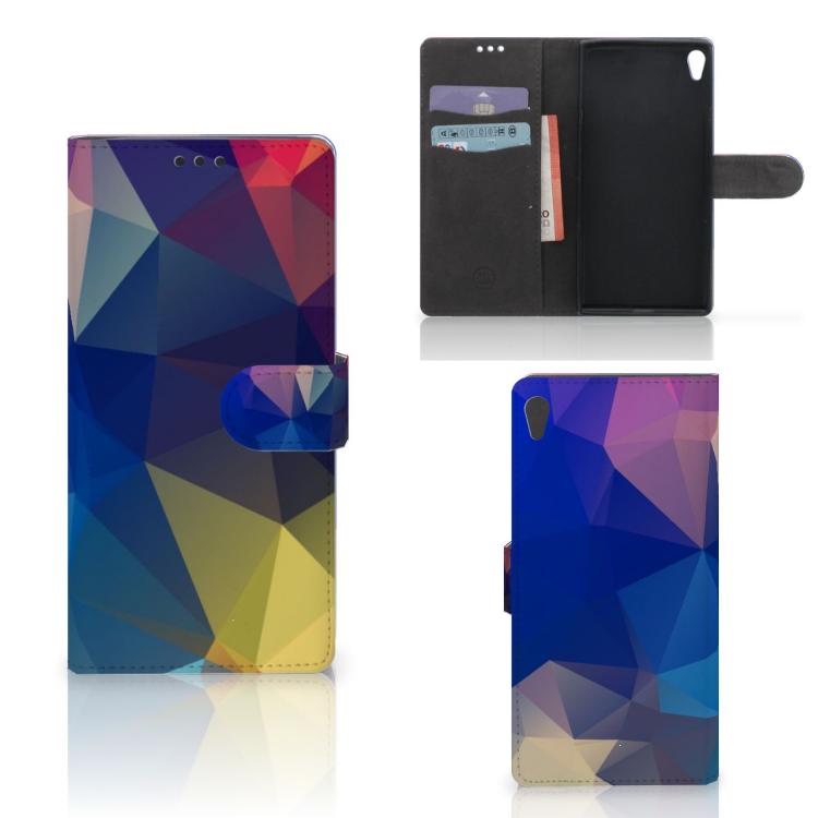 Sony Xperia XA Ultra Bookcase Polygon Dark