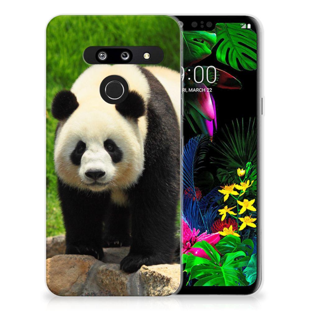 LG G8 Thinq TPU Hoesje Panda