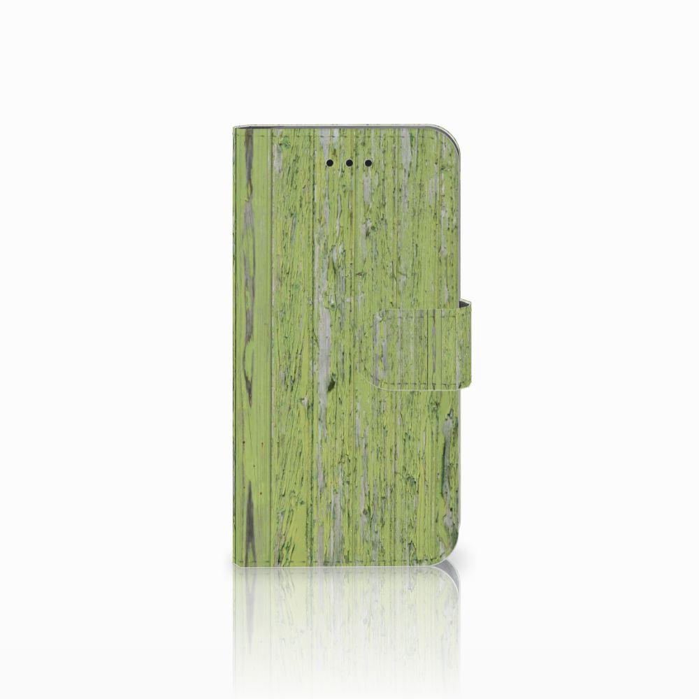Apple iPhone X | Xs Boekhoesje Design Green Wood