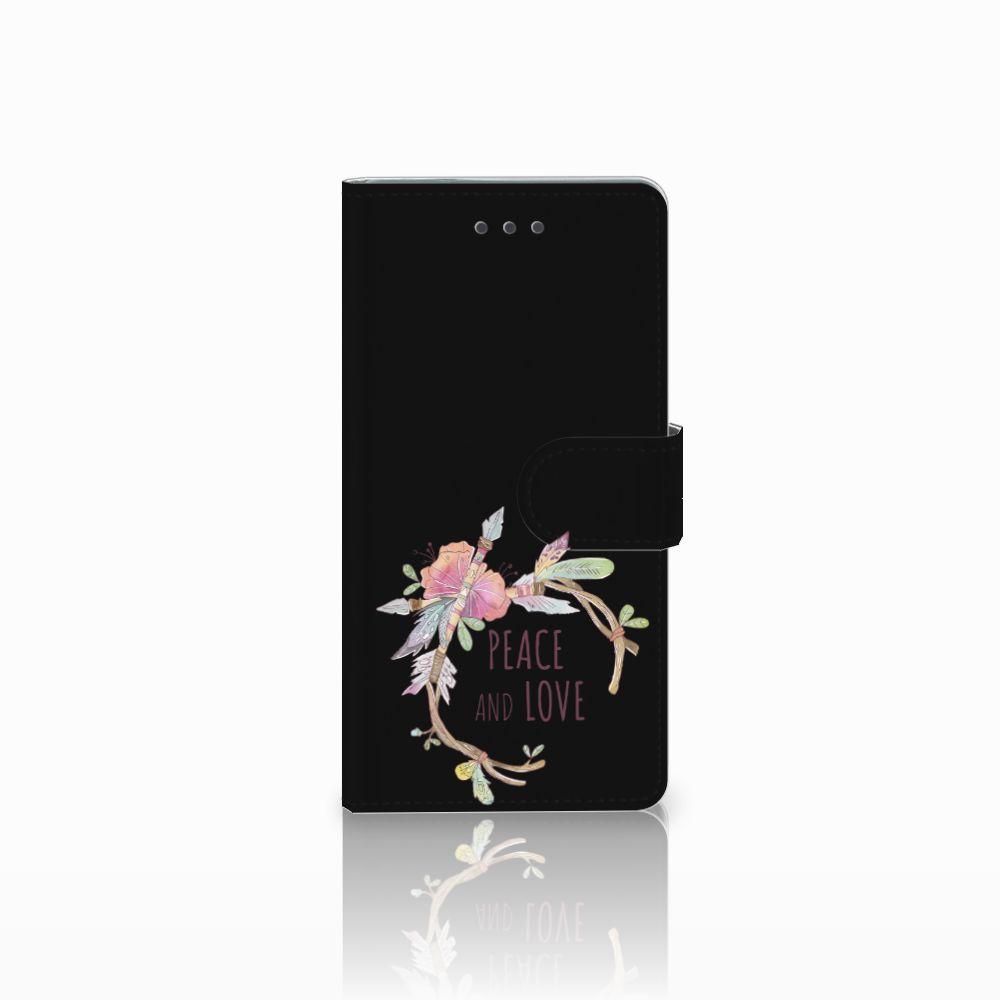 Huawei Ascend P8 Uniek Boekhoesje Boho Text
