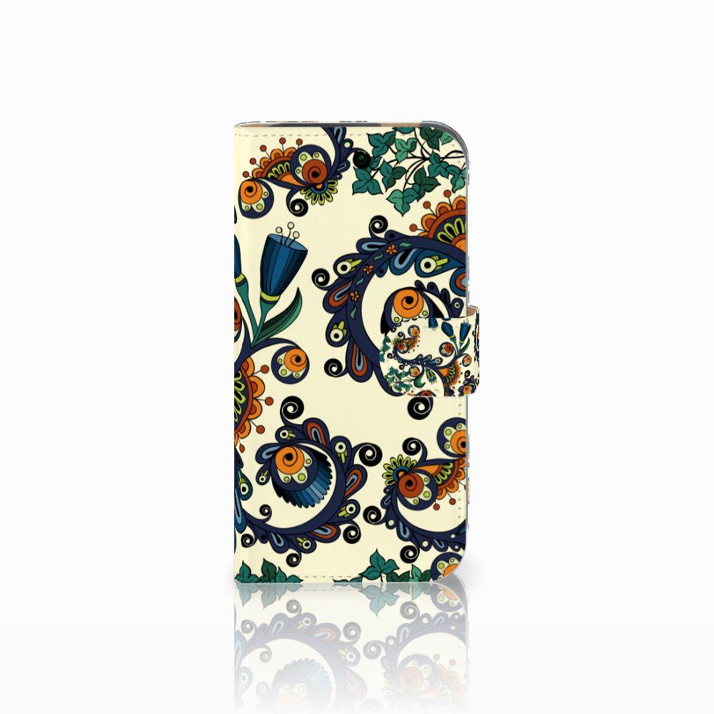 HTC One M8 Boekhoesje Design Barok Flower