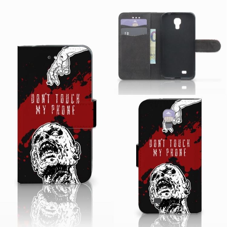 Samsung Galaxy S4 Portemonnee hoesje Zombie Blood