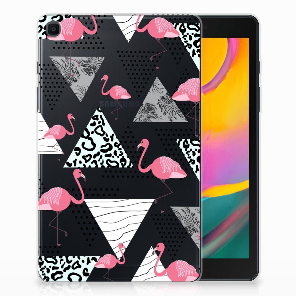 Samsung Galaxy Tab A 8.0 (2019) Back Case Flamingo Triangle