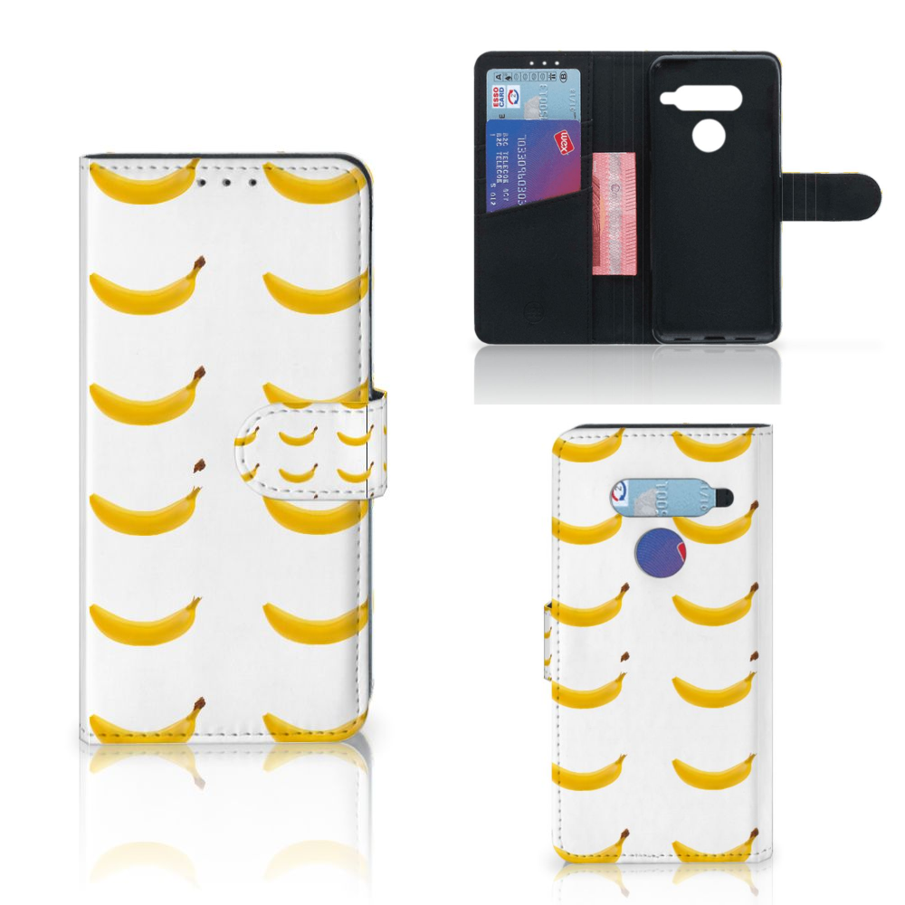 LG V40 Thinq Book Cover Banana
