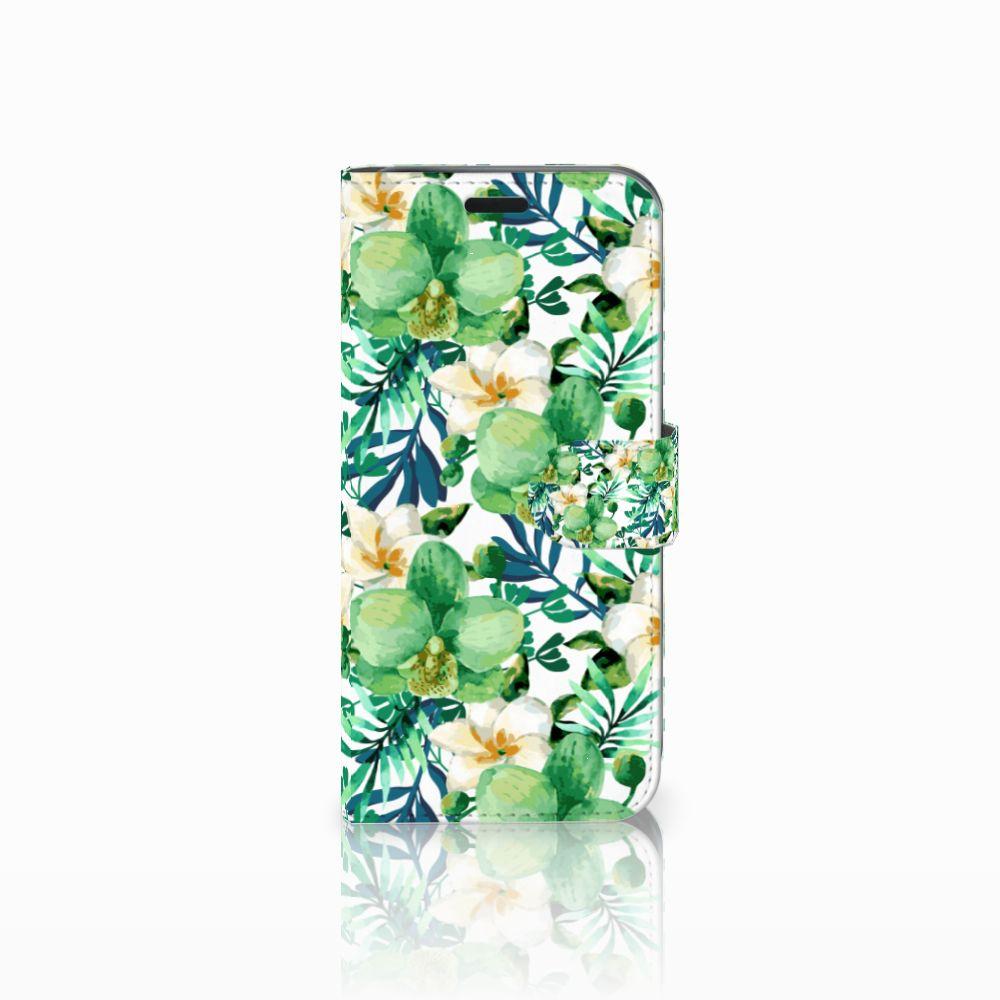 Acer Liquid Z630 | Z630s Uniek Boekhoesje Orchidee Groen