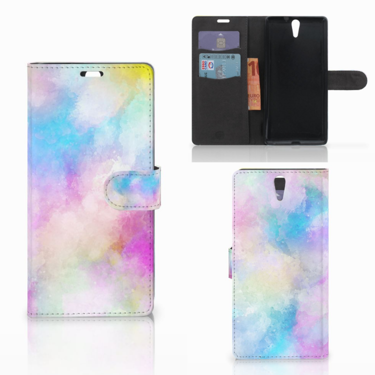 Hoesje Sony Xperia C5 Ultra Watercolor Light