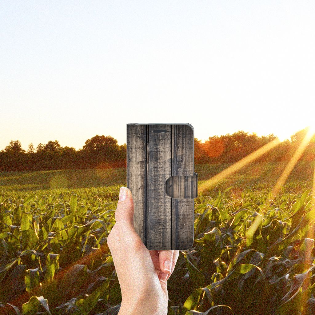 Acer Liquid Z520 Book Style Case Steigerhout