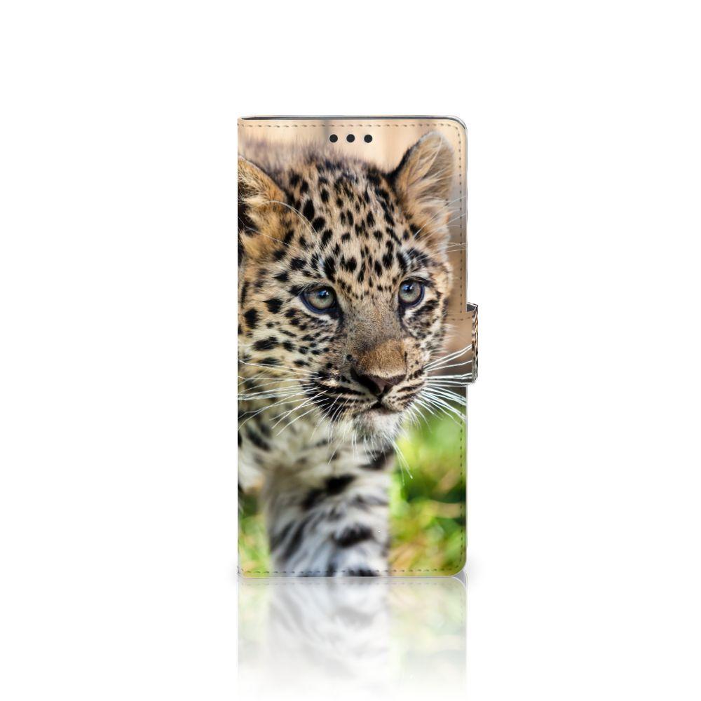 Sony Xperia XA Ultra Uniek Boekhoesje Baby Luipaard