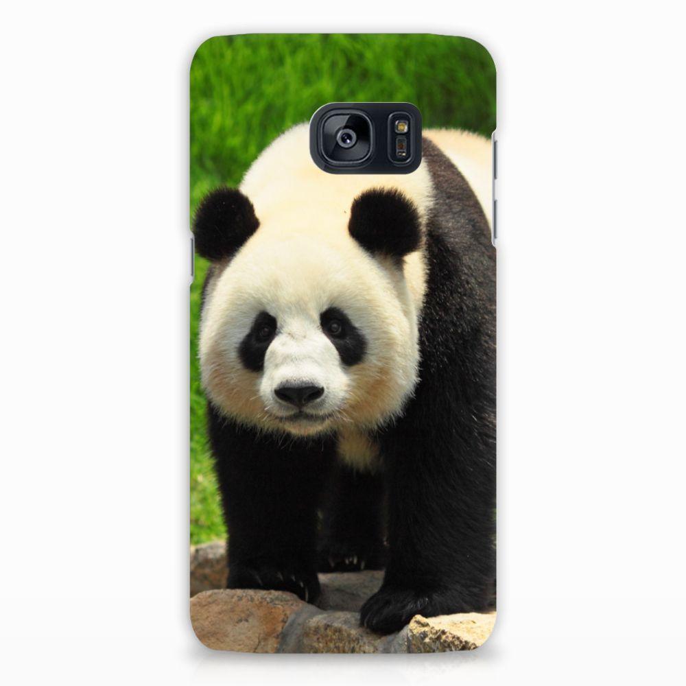 Samsung Galaxy S7 Edge Hardcase Hoesje Design Panda