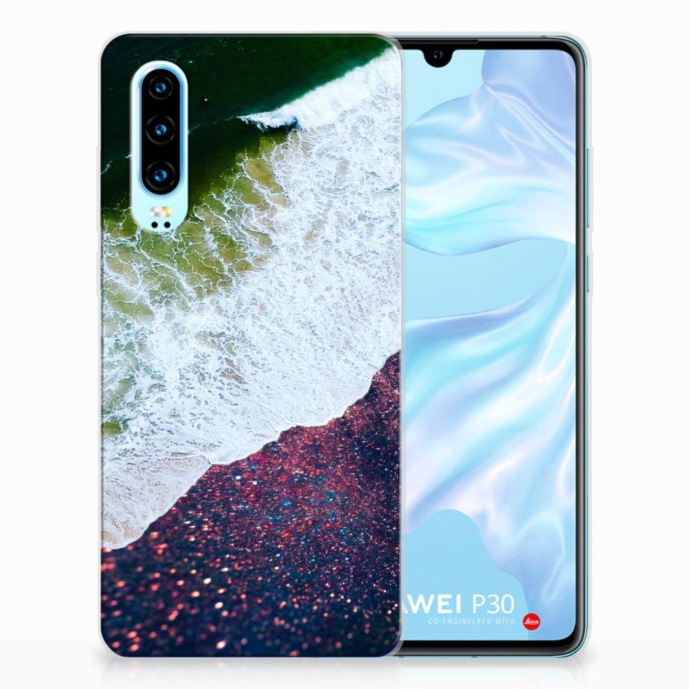 Huawei P30 TPU Hoesje Sea in Space