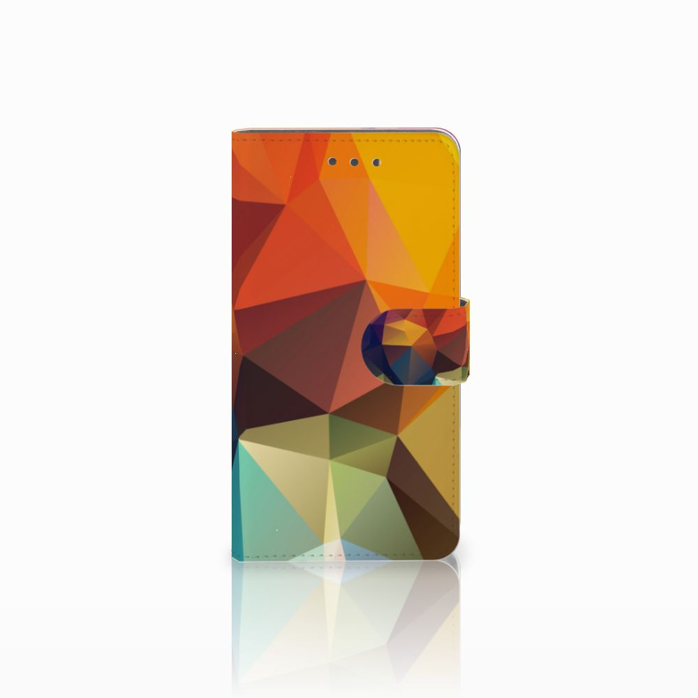 Wiko Fever (4G) Bookcase Polygon Color
