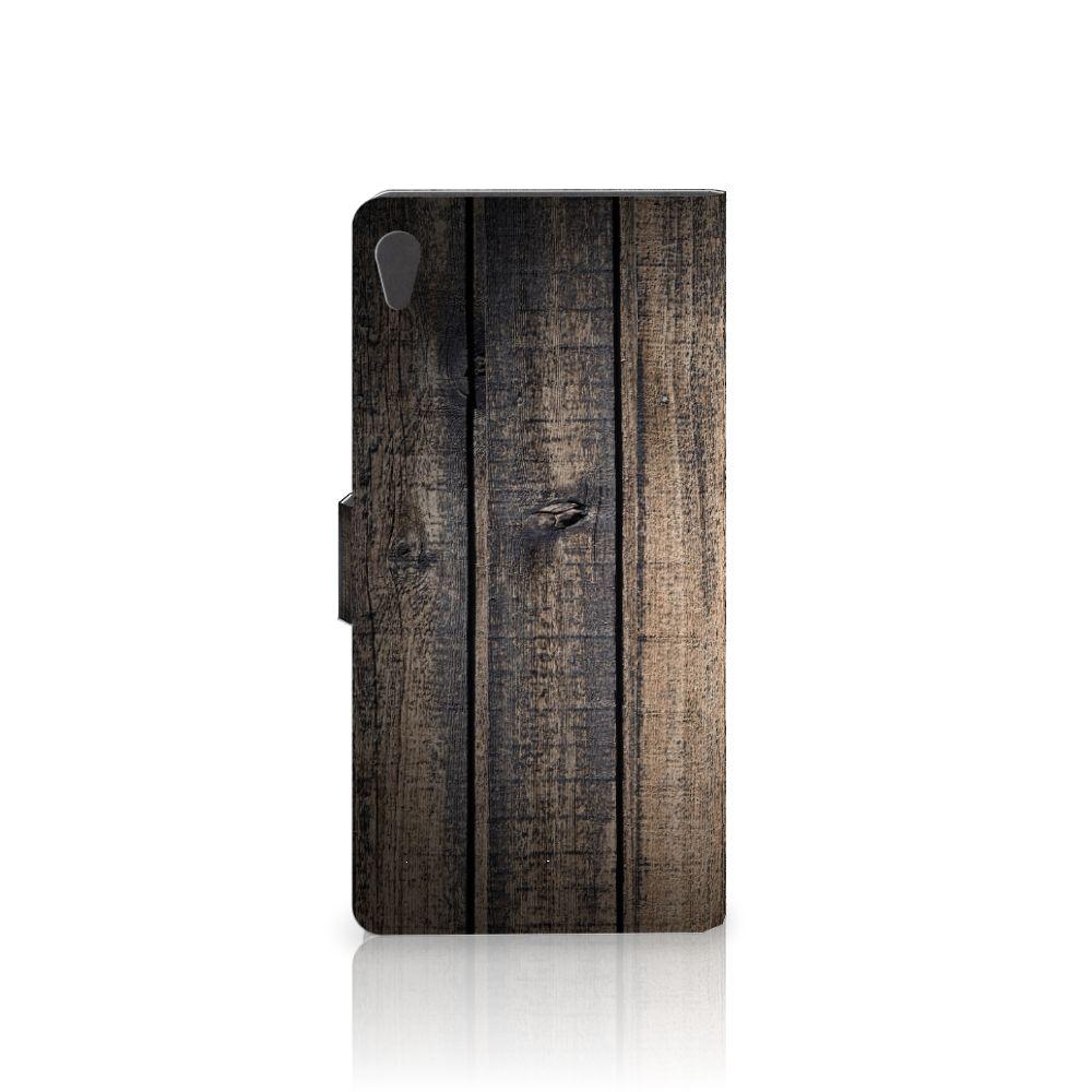 Sony Xperia XA Ultra Book Style Case Steigerhout