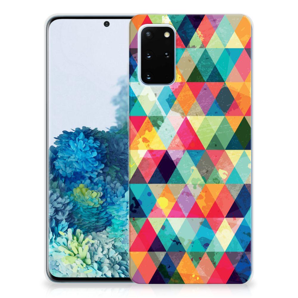 Samsung Galaxy S20 Plus TPU bumper Geruit