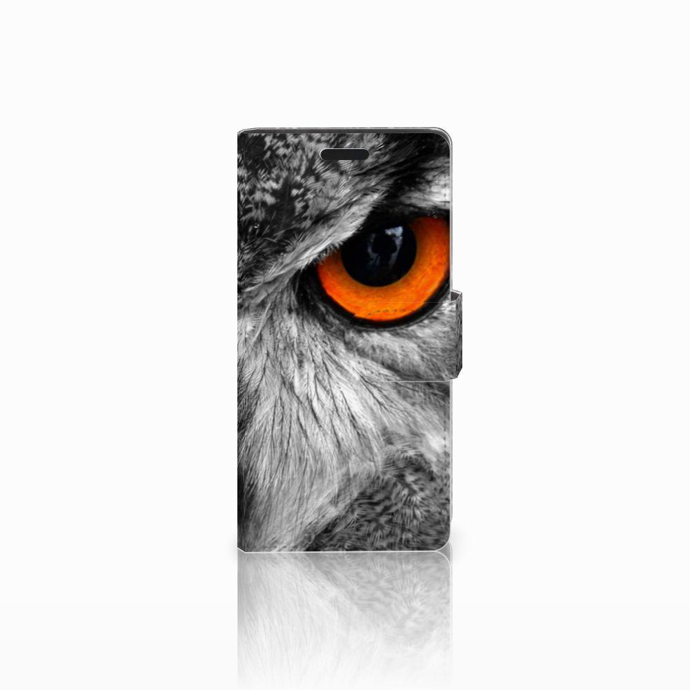 LG Leon 4G Boekhoesje Design Uil