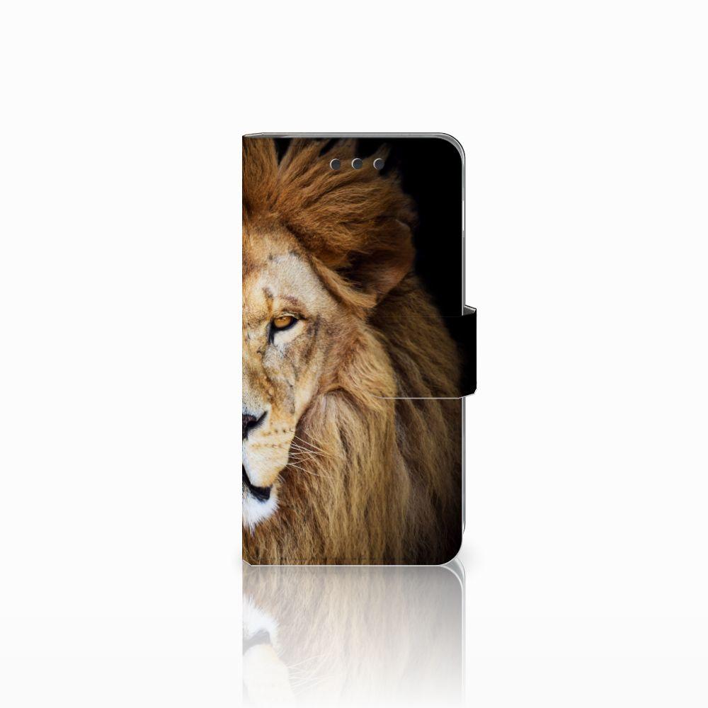 Samsung Galaxy A3 2016 Boekhoesje Design Leeuw