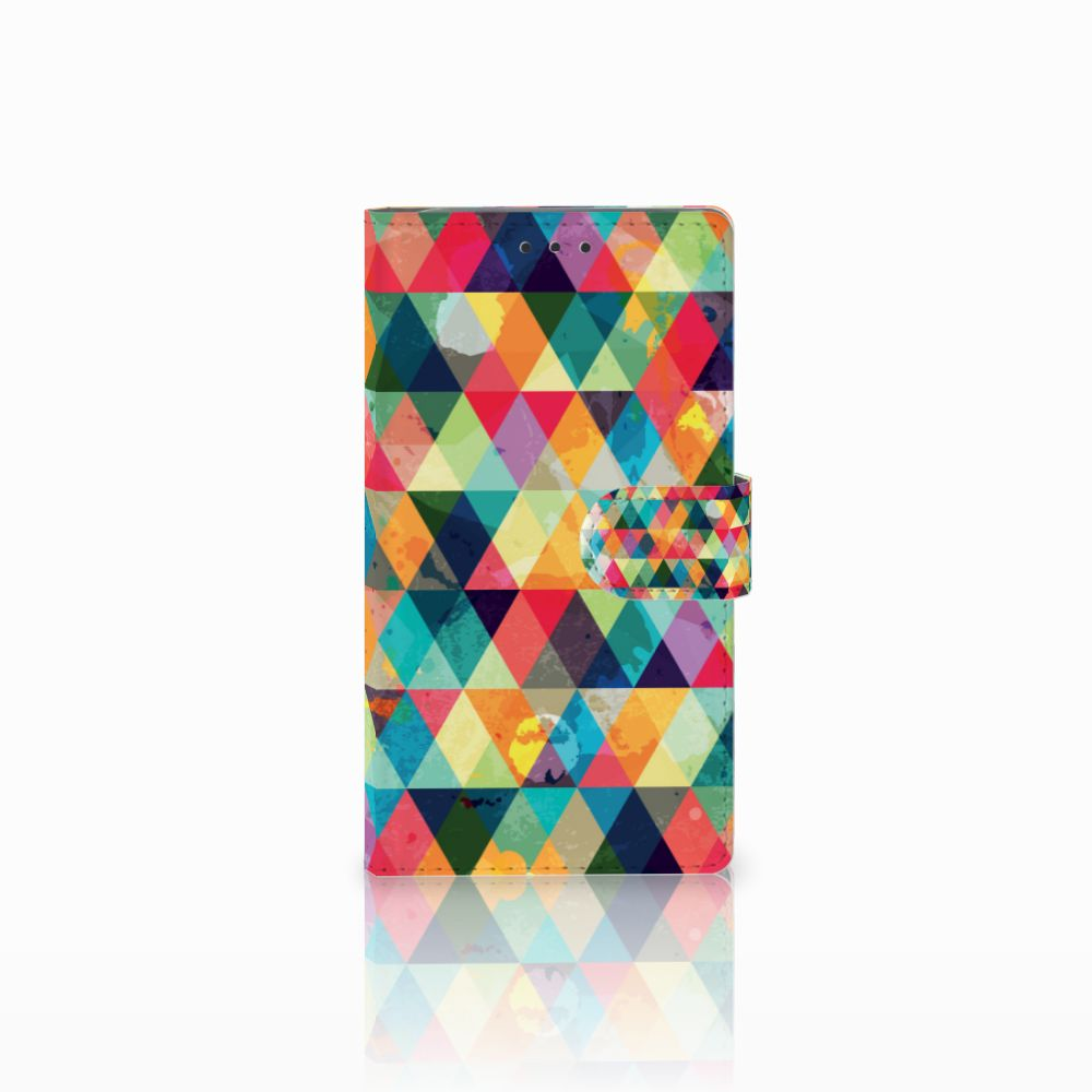 Samsung Galaxy Note 3 Uniek Boekhoesje Geruit