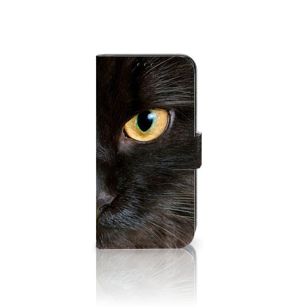 Samsung Galaxy S7 Edge Uniek Boekhoesje Zwarte Kat