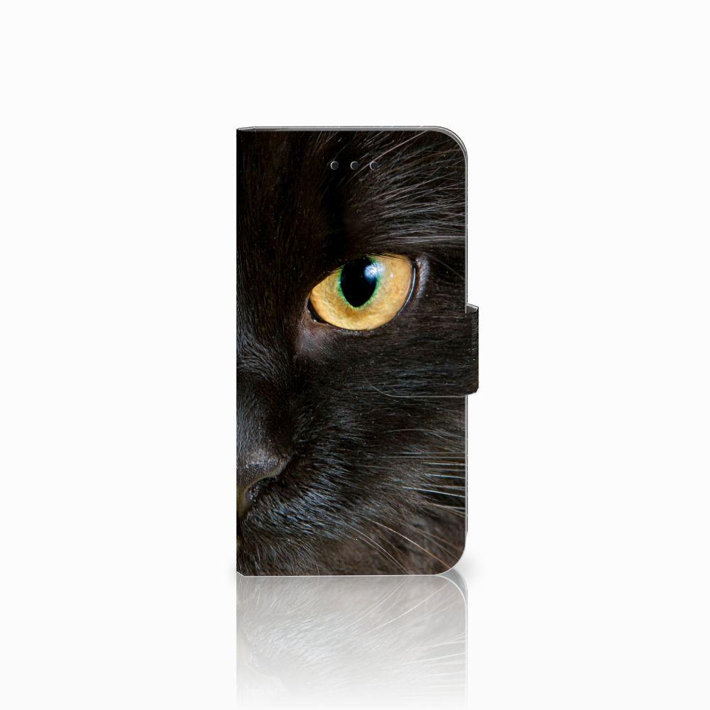 Apple iPhone X | Xs Uniek Boekhoesje Zwarte Kat