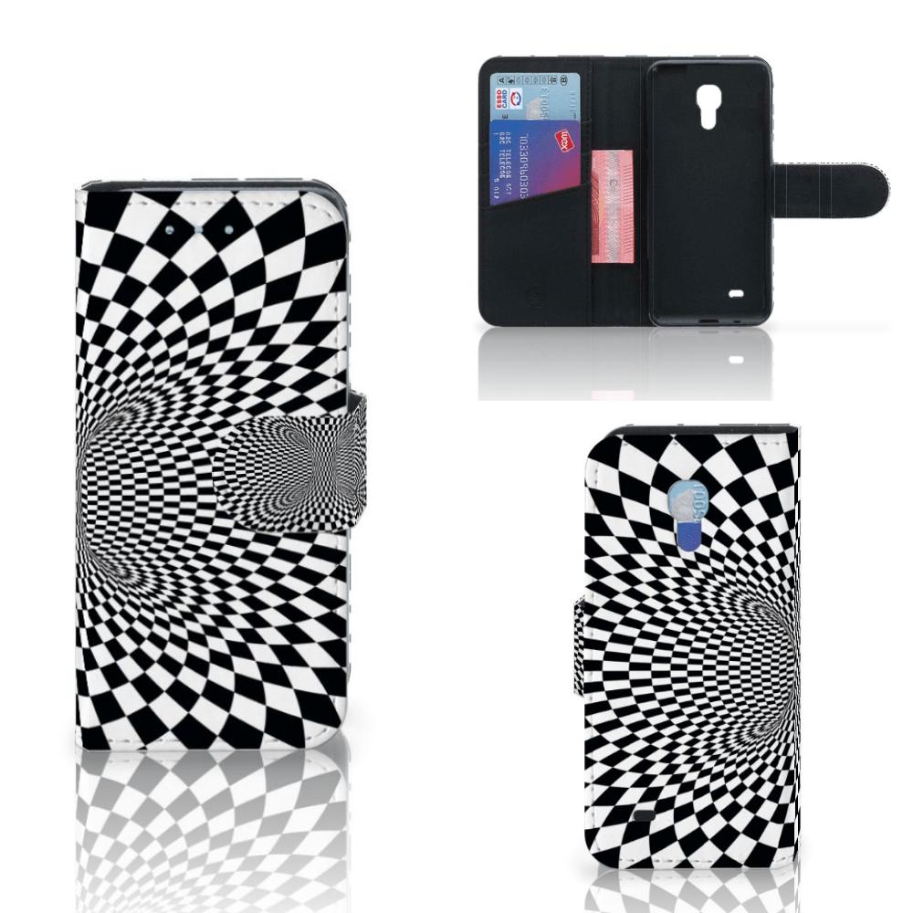 Samsung Galaxy S4 Mini i9190 Bookcase Illusie