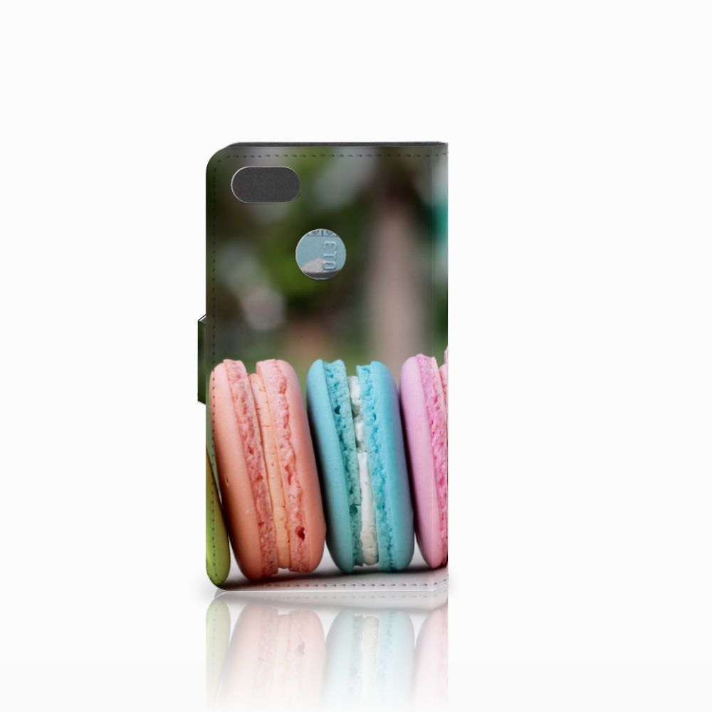 Huawei Y6 Pro 2017 Book Cover Macarons