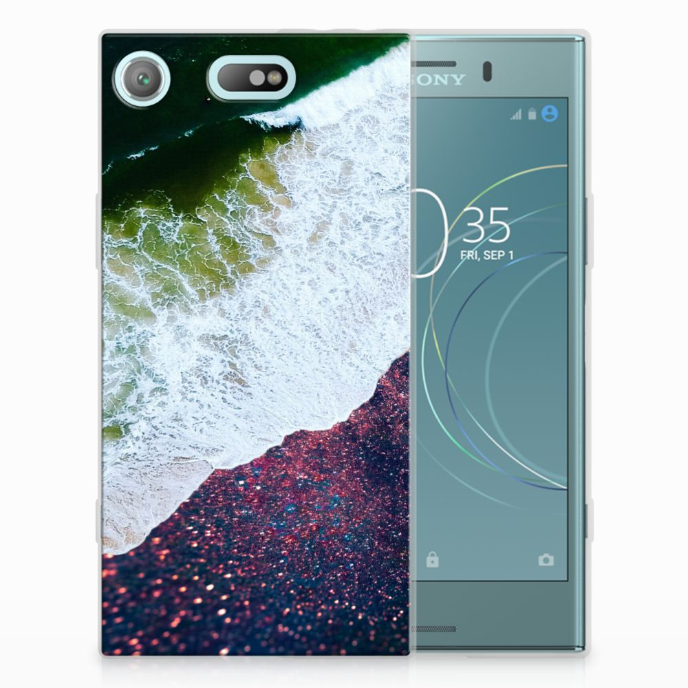 Sony Xperia XZ1 Compact TPU Hoesje Design Sea in Space