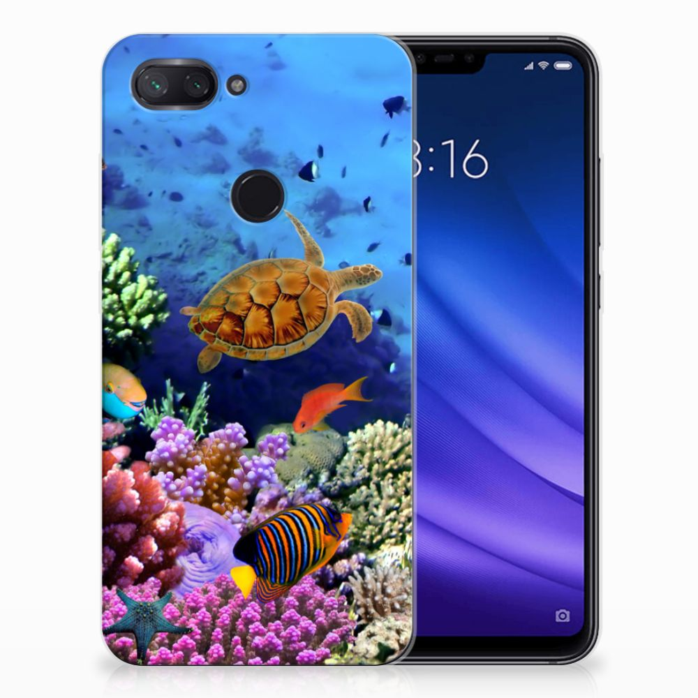Xiaomi Mi 8 Lite TPU Hoesje Vissen