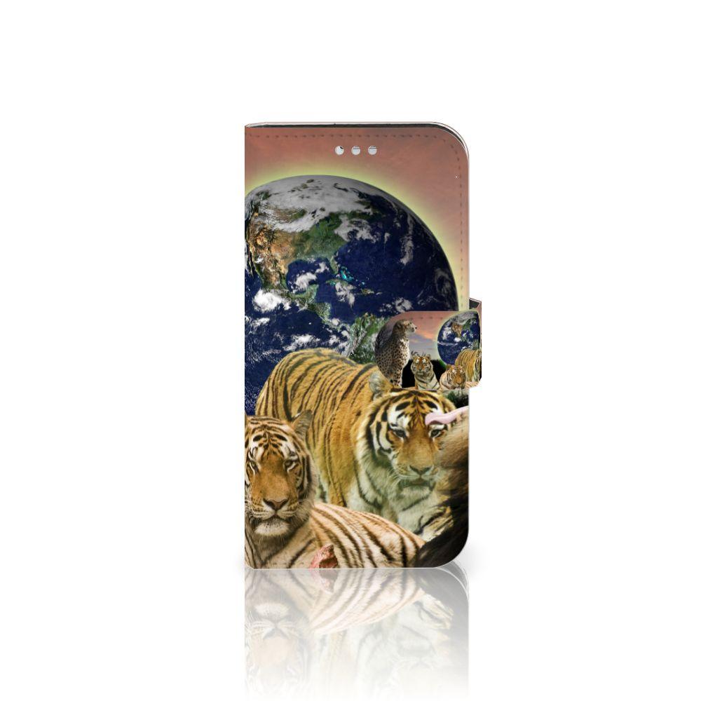 Samsung Galaxy S7 Telefoonhoesje met Pasjes Roofdieren