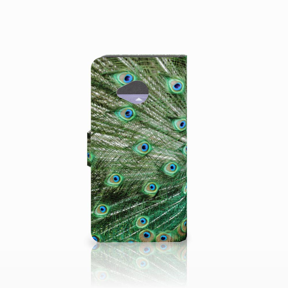 HTC U11 Life Telefoonhoesje met Pasjes Pauw