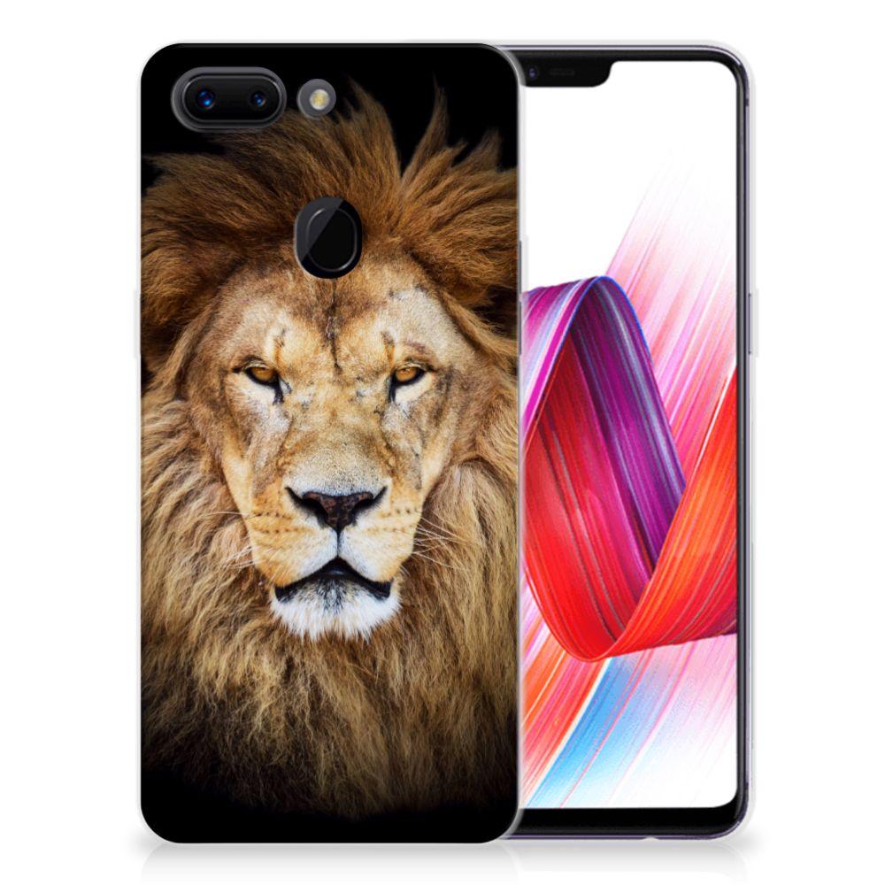 OPPO R15 Pro TPU Hoesje Leeuw