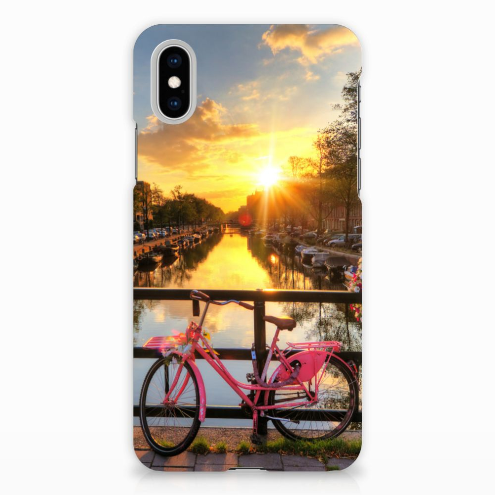 Apple iPhone X | Xs Uniek Hardcase Hoesje Amsterdamse Grachten