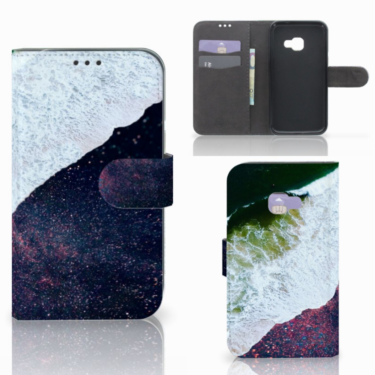 Samsung Galaxy Xcover 4 | Xcover 4s Bookcase Sea in Space