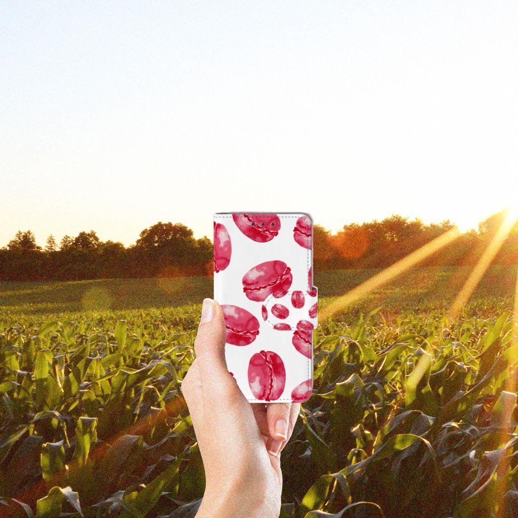 Samsung Galaxy A3 2015 Boekhoesje Design Pink Macarons