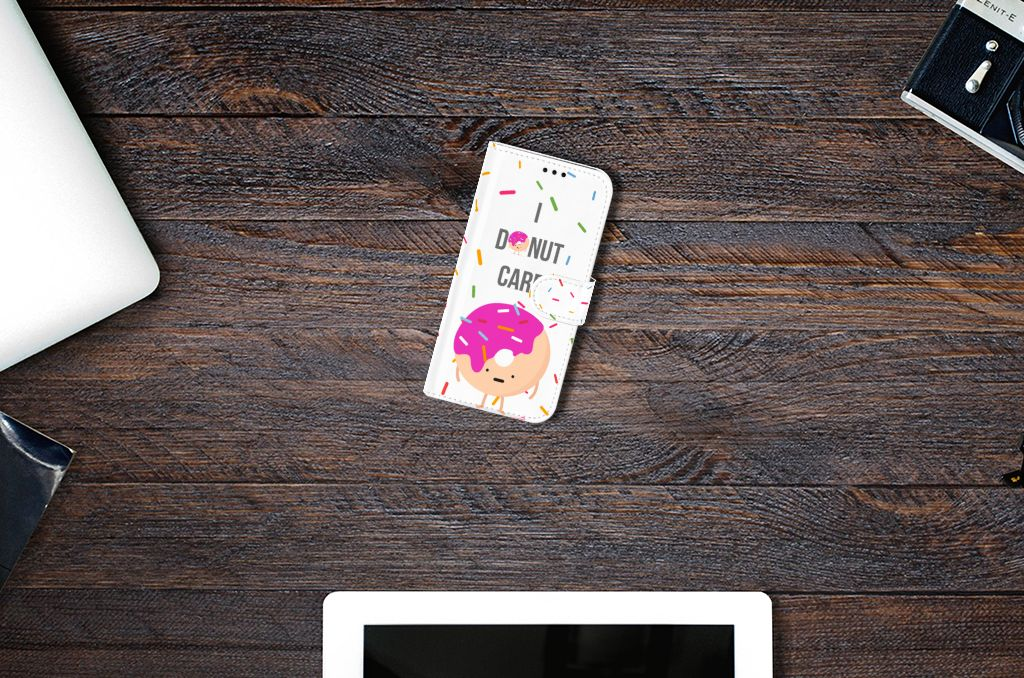 Samsung Galaxy A5 2017 Book Cover Donut Roze