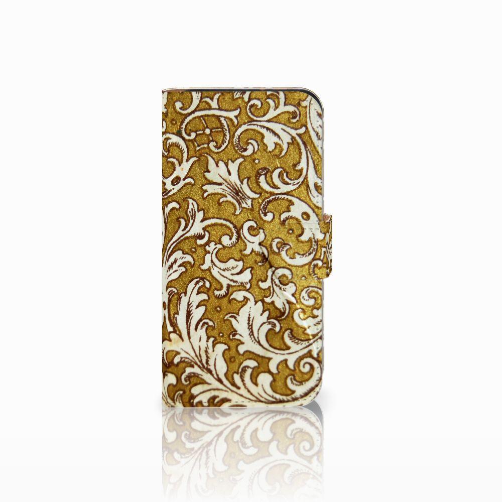 HTC One Mini 2 Boekhoesje Design Barok Goud