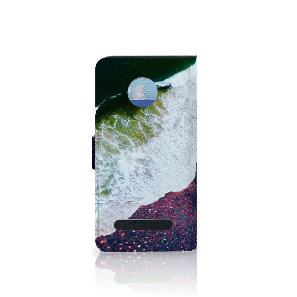 Motorola Moto Z2 Play Bookcase Sea in Space